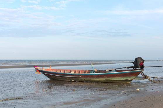 Am Strand von Laem Sai