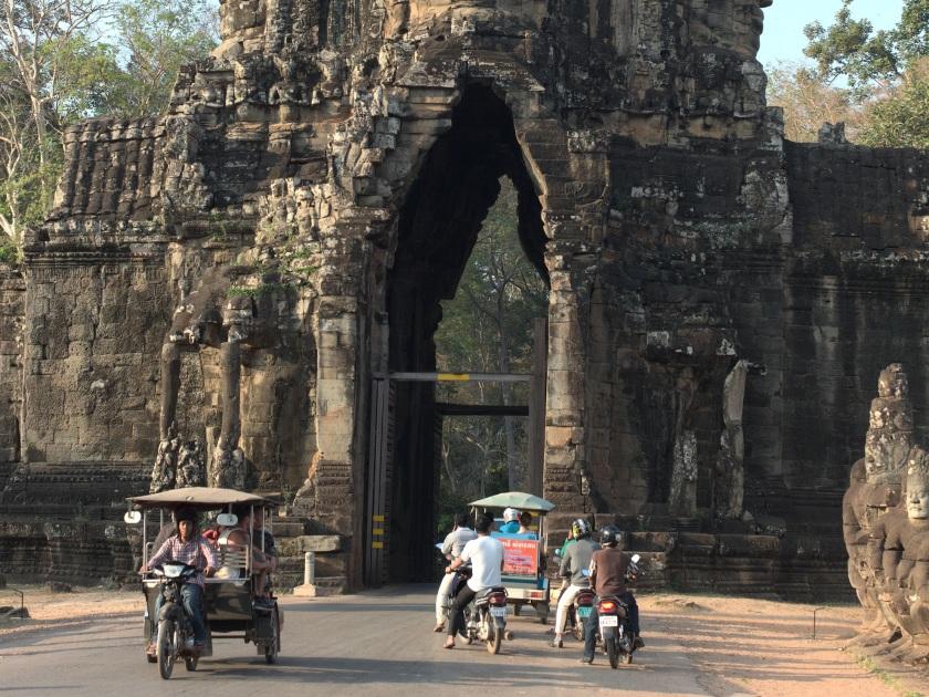 Südlicher Zugang nach Angkor Thom