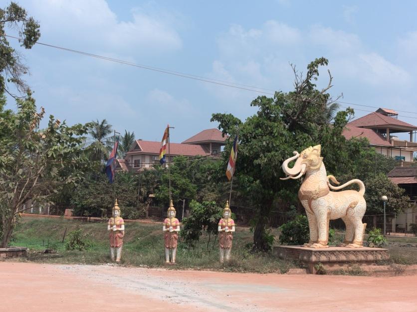 Zufahrt zur Kong Munch Grundschule - Siem Reap