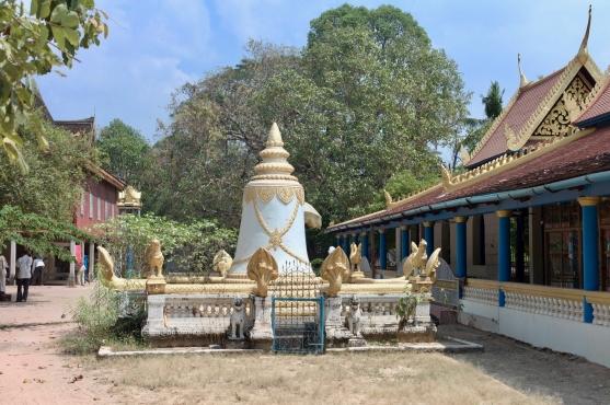 Am Atvear Tempel südlich von Siem Reap
