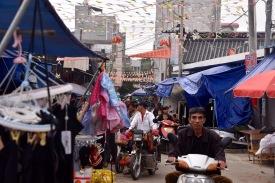Seitenstraße in Leizhou