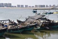 Fischerboote in der Nähe von Xige