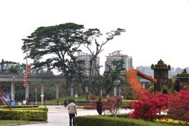 Grünanlage in Jiangmen