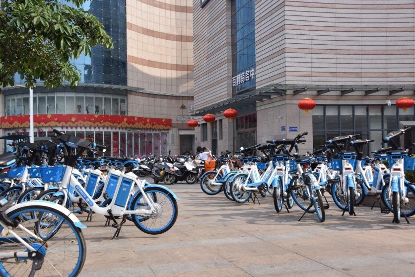 Leihräder in Yangjiang