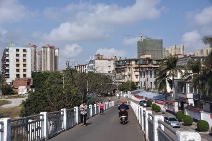Für den Verkehr gesperrt - in Xiashan