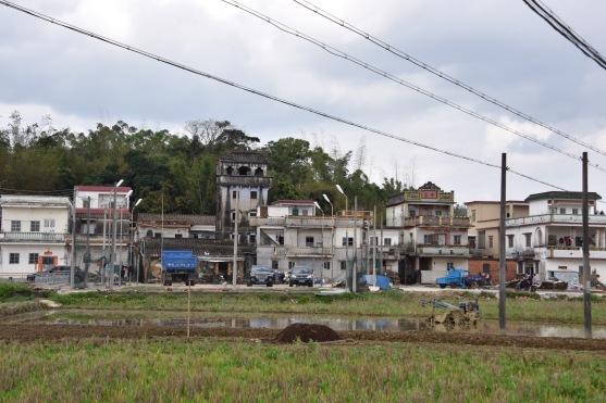 Dorf in der Nähe von Taishan