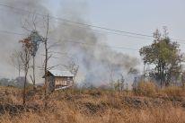 Landschaft in der Provinz Chhaep