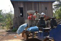 Mobile Reispoliermaschine