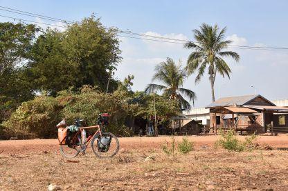 Uferzone am Mekong bei Stung Treng