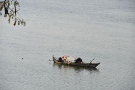 Auf dem Sekong River