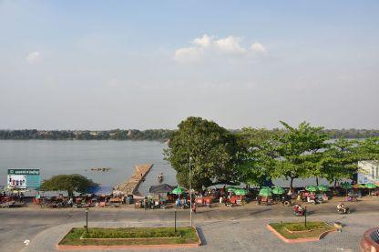 Am Ufer des Sekong in Stung Treng